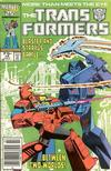 Cover for The Transformers (Marvel, 1984 series) #18 [Newsstand]