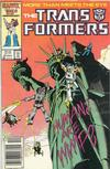 Cover Thumbnail for The Transformers (1984 series) #23 [Newsstand]