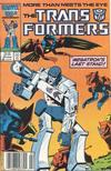 Cover Thumbnail for The Transformers (1984 series) #25 [Newsstand]