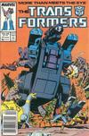Cover for The Transformers (Marvel, 1984 series) #27 [Newsstand]