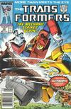 Cover Thumbnail for The Transformers (1984 series) #28 [Newsstand]