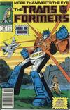 Cover Thumbnail for The Transformers (1984 series) #34 [Newsstand]