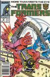 Cover for The Transformers (Marvel, 1984 series) #35 [Newsstand]