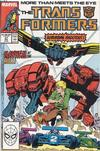 Cover for The Transformers (Marvel, 1984 series) #37