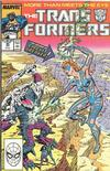 Cover for The Transformers (Marvel, 1984 series) #45 [Direct]