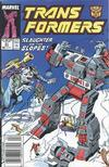 Cover for The Transformers (Marvel, 1984 series) #51 [Newsstand Edition]