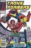 Cover for The Transformers (Marvel, 1984 series) #55 [Newsstand Edition]