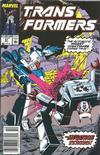 Cover for The Transformers (Marvel, 1984 series) #57 [Newsstand Edition]