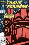 Cover for The Transformers (Marvel, 1984 series) #58 [Direct Edition]