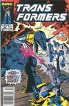 Cover for The Transformers (Marvel, 1984 series) #59 [Newsstand Edition]