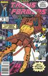 Cover for The Transformers (Marvel, 1984 series) #60 [Newsstand Edition]