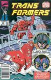 Cover for The Transformers (Marvel, 1984 series) #64 [Newsstand]