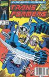 Cover for The Transformers (Marvel, 1984 series) #66 [Newsstand Edition]