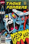 Cover for The Transformers (Marvel, 1984 series) #70 [Newsstand Edition]