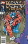 Cover for The Transformers (Marvel, 1984 series) #71 [Newsstand Edition]