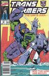 Cover for The Transformers (Marvel, 1984 series) #72 [Newsstand Edition]