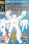 Cover for The Transformers (Marvel, 1984 series) #73 [Newsstand Edition]