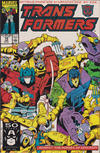 Cover for The Transformers (Marvel, 1984 series) #74 [Direct Edition]