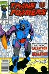Cover for The Transformers (Marvel, 1984 series) #78 [Newsstand Edition]