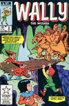 Cover for Wally the Wizard (Marvel, 1985 series) #8 [Direct Edition]