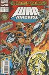 Cover for War Machine (Marvel, 1994 series) #10