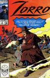 Cover for Zorro (Marvel, 1990 series) #4