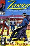 Cover for Zorro (Marvel, 1990 series) #9