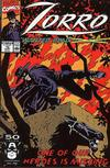 Cover for Zorro (Marvel, 1990 series) #10