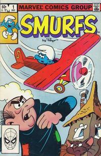 Cover Thumbnail for Smurfs (Marvel, 1982 series) #1