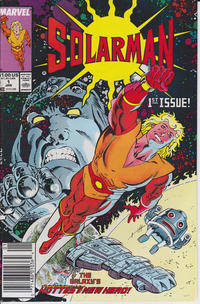 Cover Thumbnail for Solarman (Marvel, 1989 series) #1