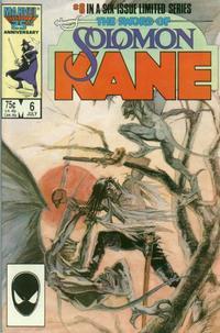 Cover Thumbnail for Solomon Kane (Marvel, 1985 series) #6