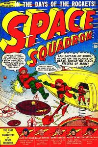 Cover Thumbnail for Space Squadron (Marvel, 1951 series) #1