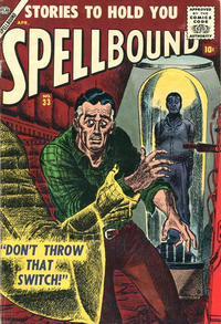 Cover Thumbnail for Spellbound (Marvel, 1952 series) #33