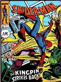 Cover Thumbnail for Spider-Man Comics Magazine (Marvel, 1987 series) #11