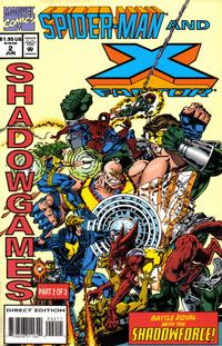 Cover Thumbnail for Spider-Man and X-Factor: Shadowgames (Marvel, 1994 series) #2