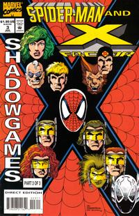 Cover Thumbnail for Spider-Man and X-Factor: Shadowgames (Marvel, 1994 series) #3