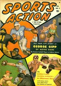 Cover Thumbnail for Sports Action (Marvel, 1950 series) #2