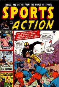 Cover Thumbnail for Sports Action (Marvel, 1950 series) #5