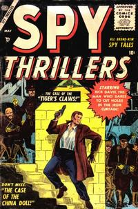 Cover Thumbnail for Spy Thrillers (Marvel, 1954 series) #4