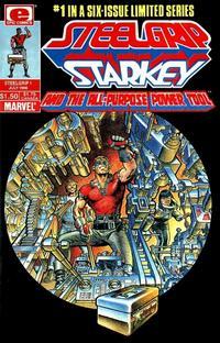 Cover Thumbnail for Steelgrip Starkey (Marvel, 1986 series) #1