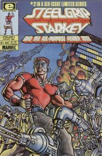 Cover Thumbnail for Steelgrip Starkey (Marvel, 1986 series) #2