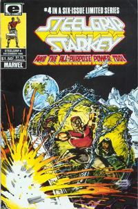 Cover Thumbnail for Steelgrip Starkey (Marvel, 1986 series) #4