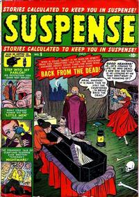 Cover for Suspense (Marvel, 1949 series) #9