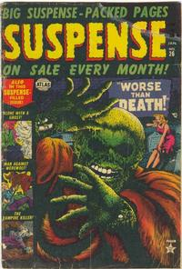 Cover for Suspense (Marvel, 1949 series) #26