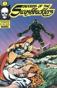 Cover Thumbnail for Swords of the Swashbucklers (Marvel, 1985 series) #4