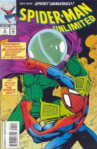 Cover Thumbnail for Spider-Man Unlimited (Marvel, 1993 series) #4