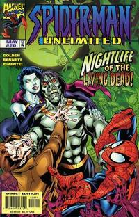 Cover for Spider-Man Unlimited (Marvel, 1993 series) #20