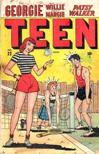 Cover Thumbnail for Teen Comics (Marvel, 1947 series) #22