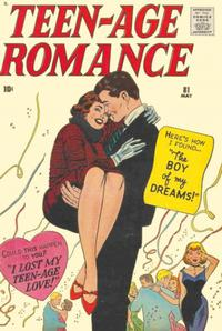 Cover Thumbnail for Teen-Age Romance (Marvel, 1960 series) #81