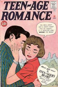 Cover Thumbnail for Teen-Age Romance (Marvel, 1960 series) #82